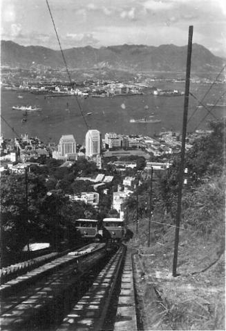 1950s Peak Trams at May Road