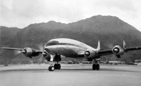 1956 BOAC Constellation
