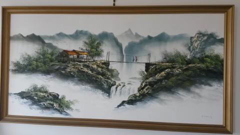 Potential C Cheung Painting found in Brisbane
