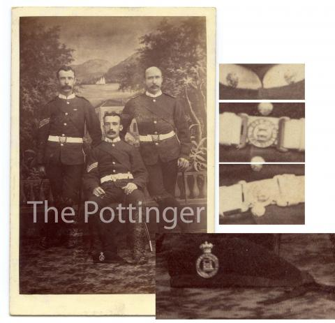 c.1885 - Three sergeants