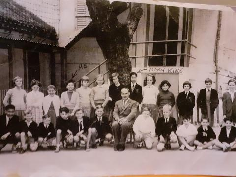 Minden Row Junior Army School class of 9 year olds in 1969