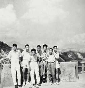 29  Good Hope Primary 5 Boys, Kai Tak In Background (1957)
