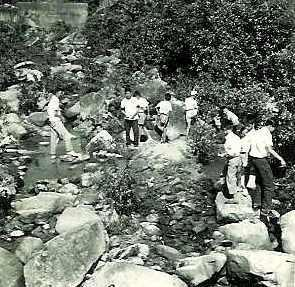 30  Stream Under Clear Water Bay Road Below Good Hope School (1957)
