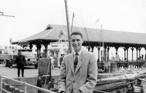 47  Andrew Suddaby at Blake Pier, Hong Kong (1957)
