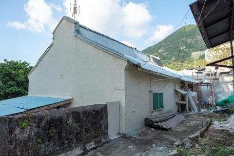 Cowshed of the old Dairy Farm in Pok Fu Lam, near current day Consort Rise.