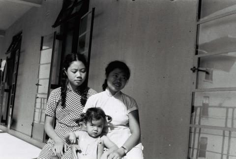 Amah and children