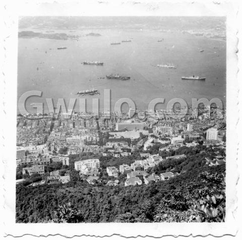 1950s view over Sai Ying Pun