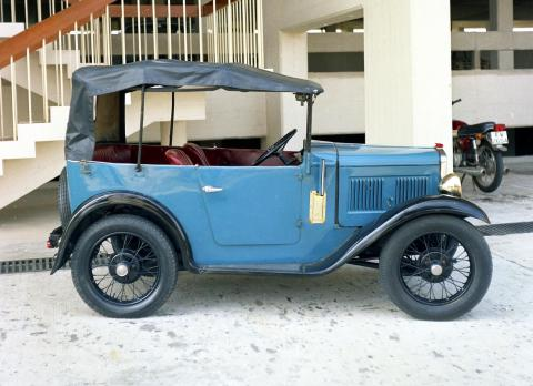 Austin - 7 shipped to HK 1969 - side view