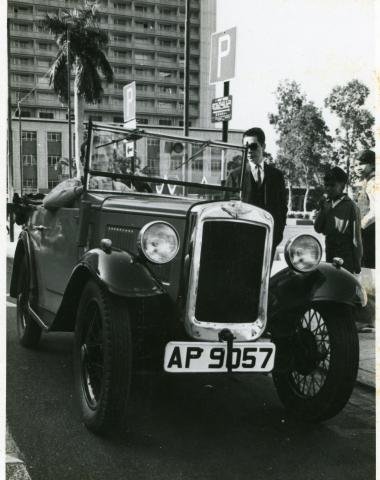 Austin-7 shipped to Hong Kong in 1969