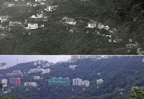 Barker Road Houses 1931 and 2017