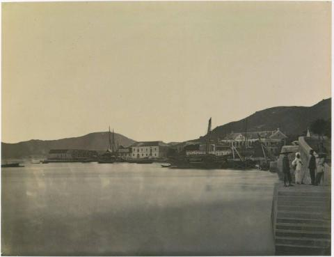 Causeway Bay with East Point early  1870's..jpg