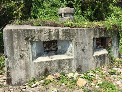 Pillbox 030 front view