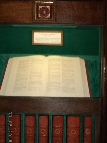 The Roll of Honor testament