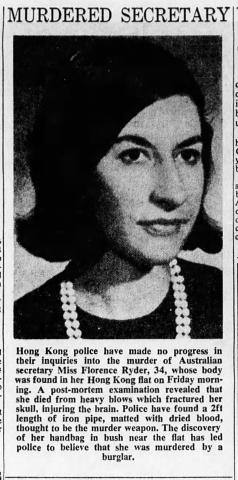 Florence Ryder The Sydney Morning Herald Mon Page 8 5th December 1966.jpg