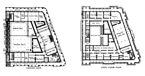 General PostOffice & Government Offices - Floor Plans