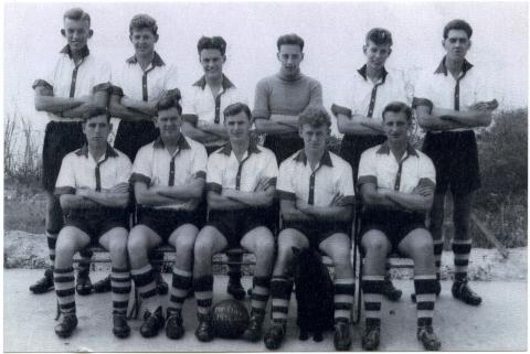 1955 RAF Mount Davis football team