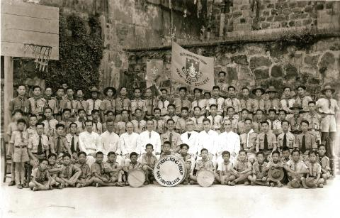 15HKG Scout Group Photo c1946 (post war)