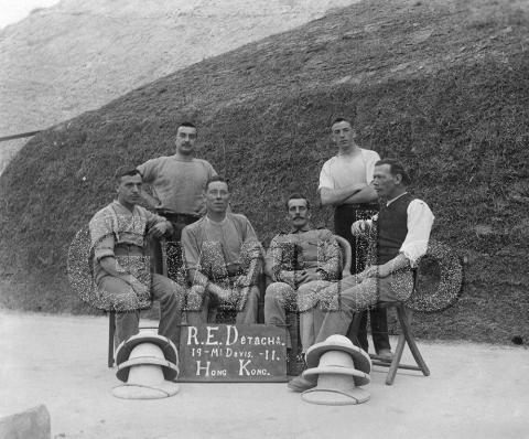 1911 Royal Engineers Detachment, Mount Davis