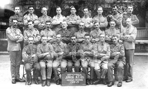 1919 88th Coy R.G.A. Junior N.C.O.'s