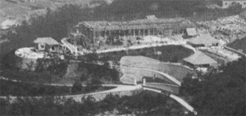 British Military Hospital under construction