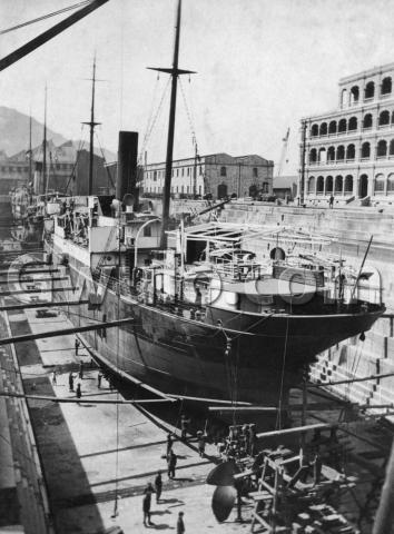 Dry dock at Taikoo