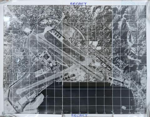 Aerial view of Kai Tak