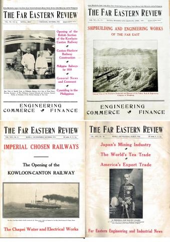 FER- Examples of Front Covers with Hong Kong articles