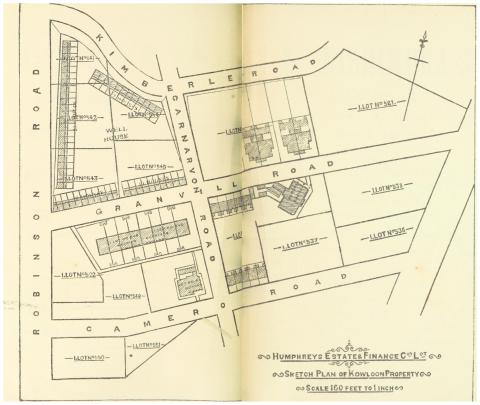 HURLEY(1897)_p172_Map_of_the_KOWLOON_ESTATE_Property
