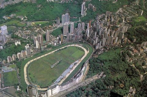 1980s Happy Valley Aerial View