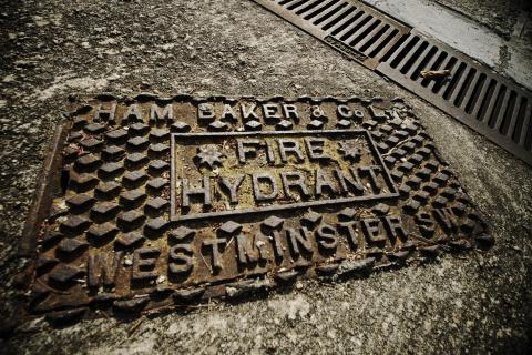 Ham Baker & Co. Westminster SW manhole cover