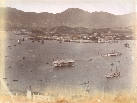 Harbour and Kowloon 1890s