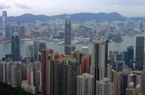 Central and Kowloon from the Peak (2014)
