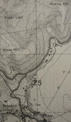 1939 OS Map of Stanley Main Beach