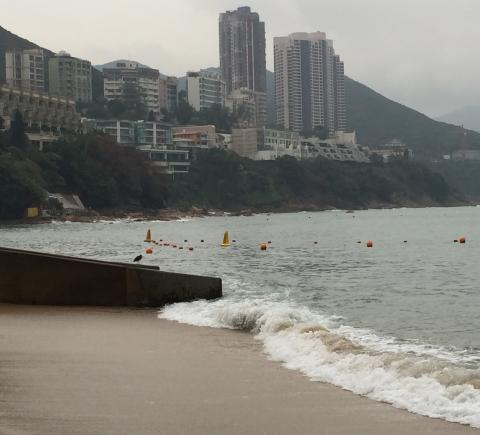 View from Stanley Main Beach