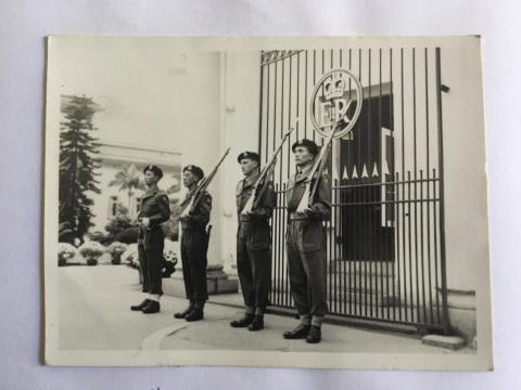 1954, First Guard, Royal Hong Kong Regiment, Government House