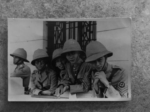 St John volunteers in China during WWII