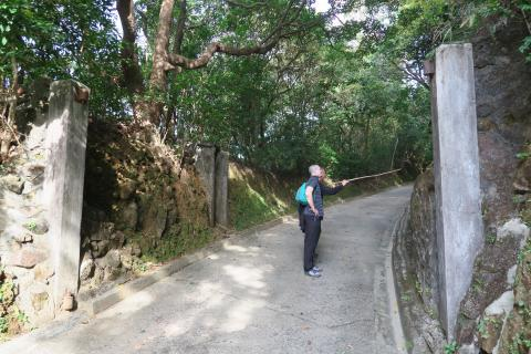 Entrance to Sai Wan Hill Battery
