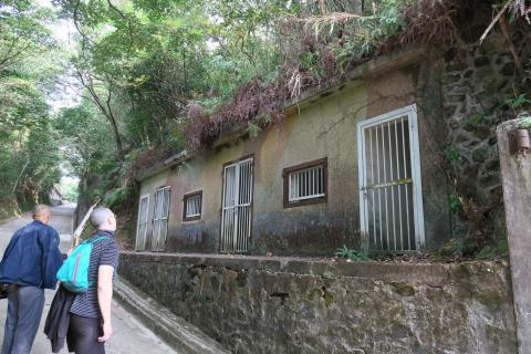 Camouflaged buildings