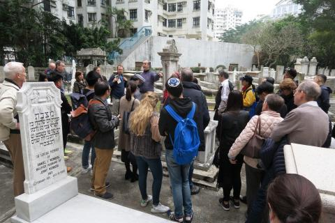 Guided tour of the Jewish Cemetery