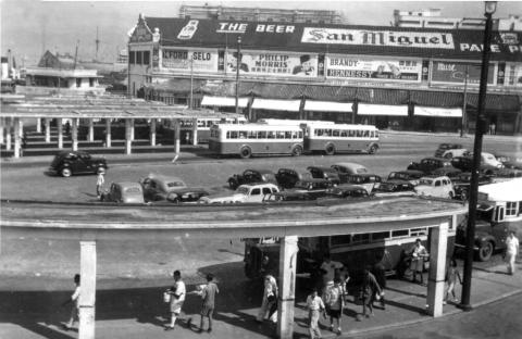Kowloon Bus station 1952.
