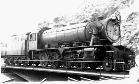 KCR Steam Locmotive No.26 on Turntable at Hung Hom