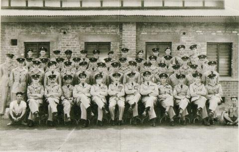Ping Shan personnel in 1956