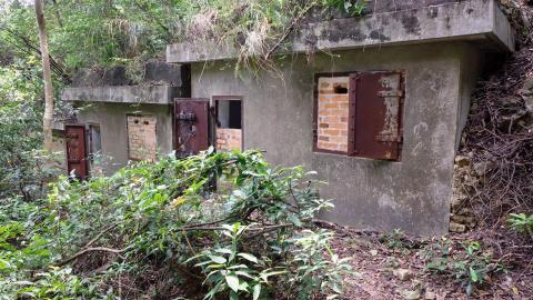 Military Shelters at Pokfulam Reservoir - Structure D