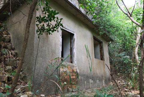 Military Shelters at Pokfulam Reservoir - Structure A