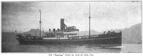 S.S.Sunning - The Far Eastern Review Jan 1921