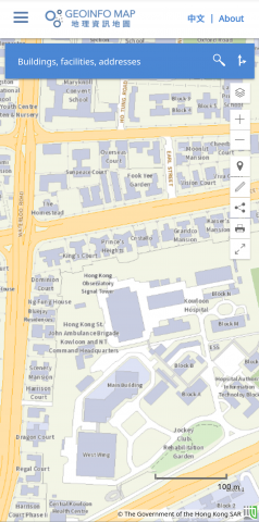 Geoinfo Map of Hong Kong Observatory Signal Tower