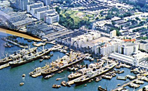 Sea Terminal-aerial image location