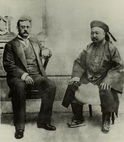 Governor Sir Henry Arthur Blake and the Viceroy of Guangdong
