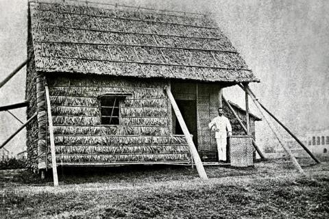 Dr Alexandre Yersin Plague Hut in Hong Kong
