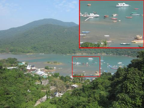 Inspection wells 4, 5, and 6 at Tai Tam Bay